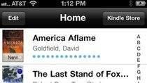Aplikacja Kindle jeszcze z linkiem do sklepu Amazon