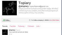 """Ostatni wpis na na Twitterze aresztowanego rzecznika grupy """"Anonymous"""""""