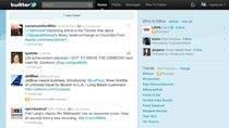 Promowane ćwierknięcie JetBlue w strumieniu wiadomości