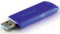 Przykładowy pendrive firmy Verbatim korzystający  nowego interfejsu USB 3.0