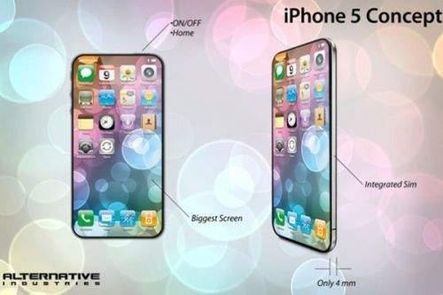 iPhone 5 i iPad 5 - projekty i koncepcje