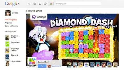 Google Plus goni Facebooka - gry już dostępne