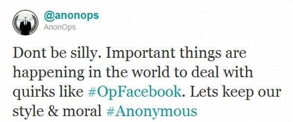 Anonymous na Twitterze