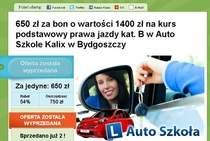 Kusząca oferta Autoszkoły Kalix.