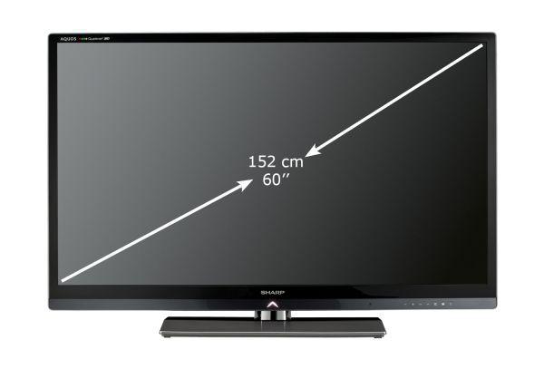 Sharp Quattron 3D LC-60LE830E (przekątna)