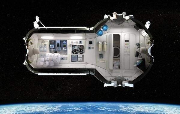 Hotel kosmiczny CSS