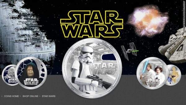 Monety Star Wars