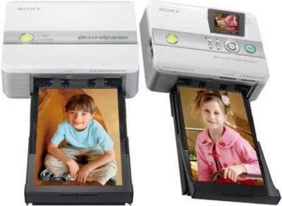 Drukarki do zdjęć Sony DPP-FP55 i DPP-FP35
