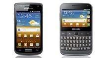 Smartfony Galaxy W i Galaxy M Pro