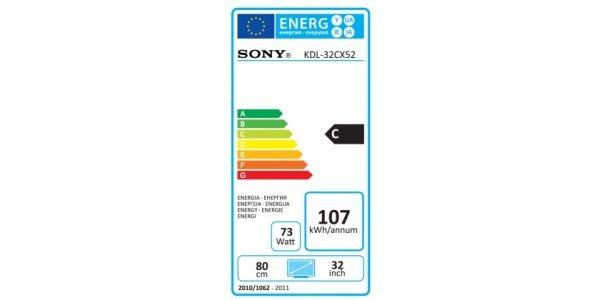 Sony KDL 32CX525 ekonaklejka
