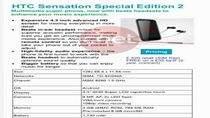 HTC Sensation Special Edition 2 (źródło: cnet.com)