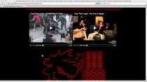 Strona teksańskiej policji po zhakowaniu