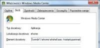 Sposób uruchamiania WMC określa się za pomocą przełączników dodanych do pliku wykonywalnego