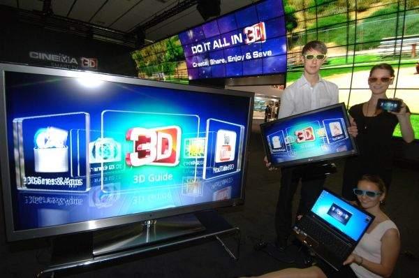 LG Cinema 3D na IFA 2011