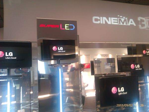 LG na IFA 2011