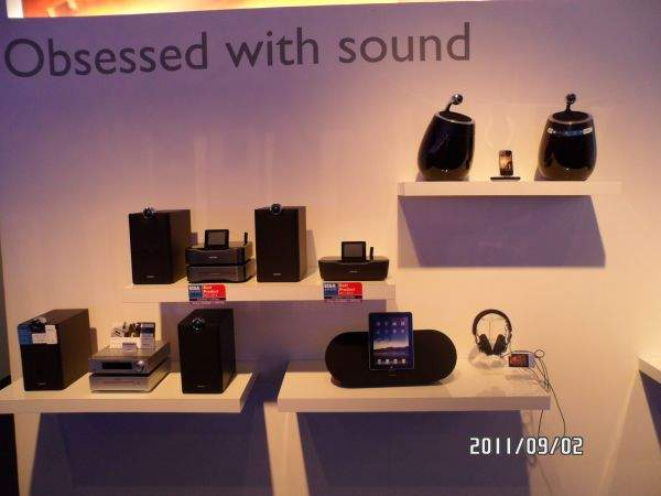 Philips Obsessed with sound na IFA 2011