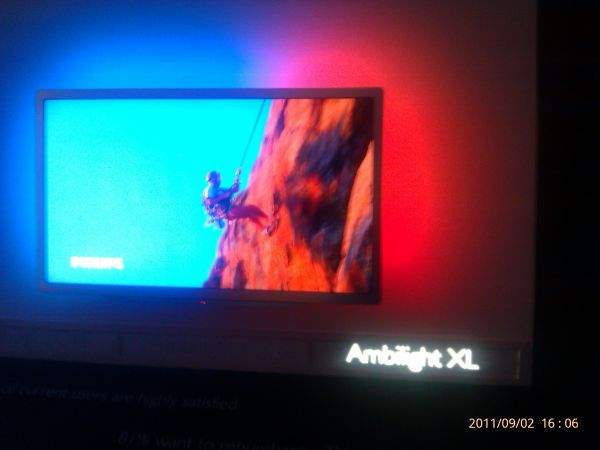 Philips Ambilight XL na IFA 2011