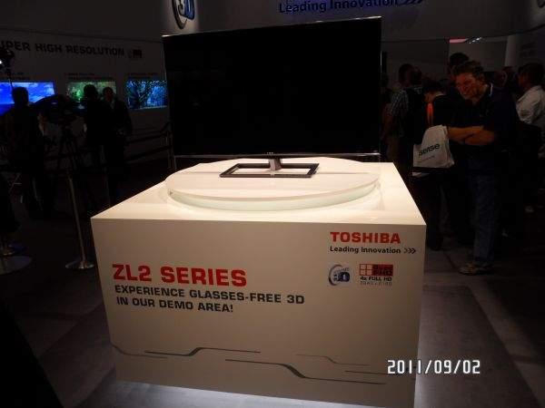 Toshiba ZL2 - 3D bez okularów na IFA 2011