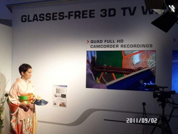 Kamera Toshiba Quad Full HD na IFA 2011