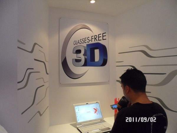 Toshiba Qosmio 750 -laptop 3D bez okularów