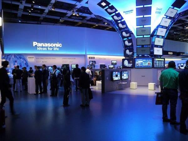 Panasonic - kinowy wystrój na IFA 2011