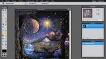 Interfejs użytkownika programu Pixlr jest naprawdę piękny i funkcjonalny. Z pewnością spodoba się miłośnikom Photoshopa (korzysta nawet z tych samych skrótów klawiszowych).