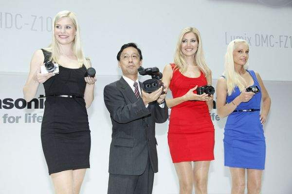 Modelki na IFA 2011