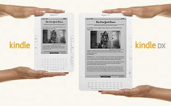 Kindle 3 kontra Kindle DX