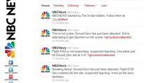 NBC News - zhakowane konto na Twitterze