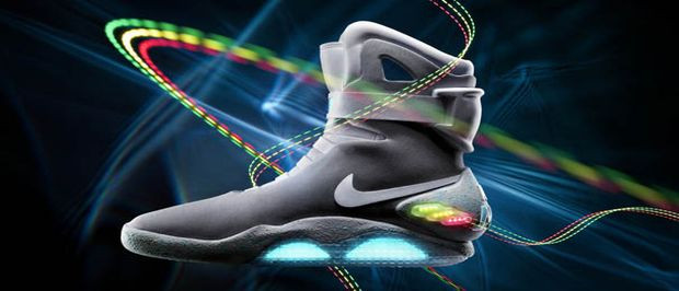 Nike Air Mag buty Marty'ego McFly'a z filmu Powrót do