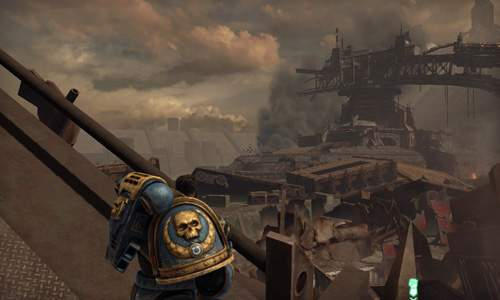 Wojna w świecie Warhammer 40.000 toczona jest na epicką skalę. Świadczy o tym chociażby skala zniszczeń.