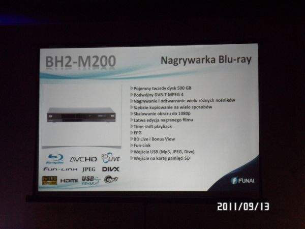 Funai BH2-M200 - nagrywarka Blu-ray