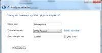 Zabezpieczanie sieci bezprzewodowej w Windows 7