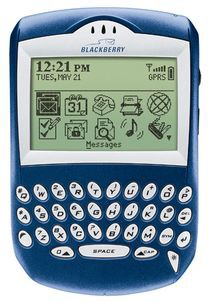 BlackBerry Quark 6210 - asystent biznesmena