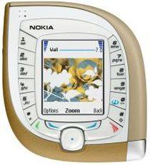 Nokia 7600 - propozycja Nokii przypominająca lusterko