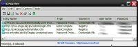 Obok adresów internetowych, do których Internet Explorer zapamiętał dane dostępowe, IE PassView podaje nazwy użytkownika i hasła w jawnej postaci.