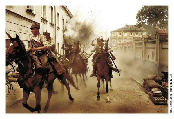 Atak kawalerii w 1920 3D