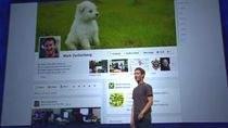 Mark Zuckerberg prezentuje Facebook Timeline