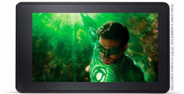 Amazon Kindle Fire Green Lantern