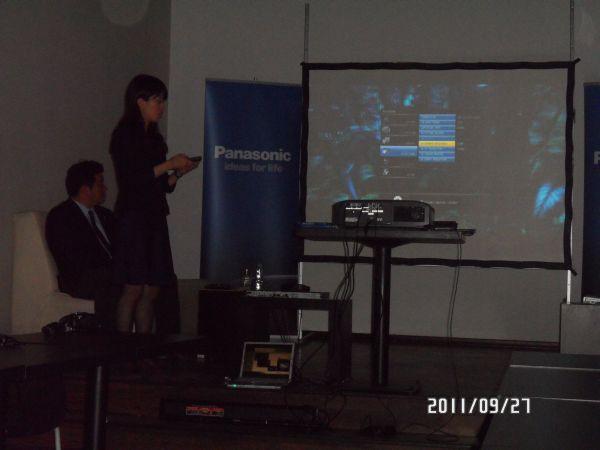 Projektor Panasonic PT-AT5000E ustawienia