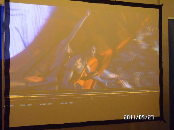 Monitor 3D w Panasonic PT-AT5000E