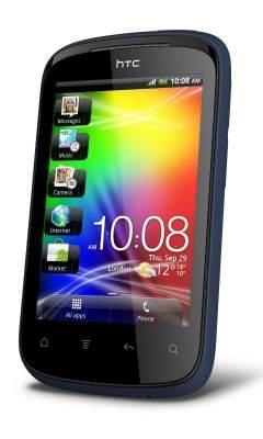 HTC Explorer na zdjęciu