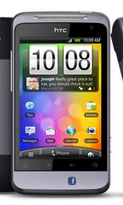 HTC Salsa na zdjęciu