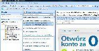 Skype Email Toolbar integruje bazy adresowe Outlooka i Skype i pozwala używać funkcji komunikatora w programie pocztowym