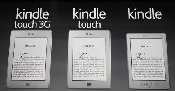 Kindle - 3 nowe modele