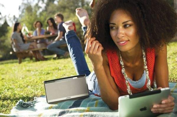 Bose SoundLink w parku