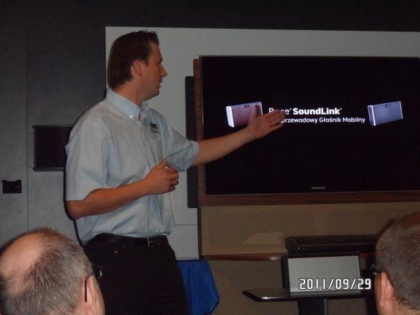 Bose SoundLink prezentacja w salonie Bose