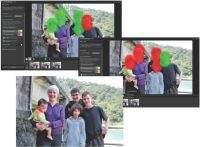 Funkcja mieszania zdjęć znacznie upraszcza uzyskanie optymalnego ujęcia z kilku innych. Wystarczy zaznaczyć udane i nieudane fragmenty na kilku zdjęciach.