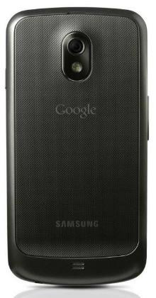Galaxy Nexus, widok z tyłu