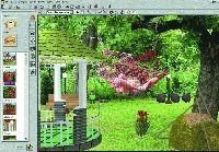 Wizualizacja ogrodu z programu Garden Composer 3D
